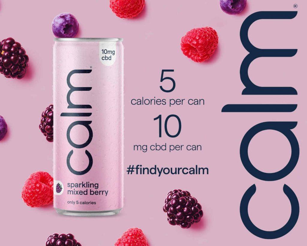 calm drink berries